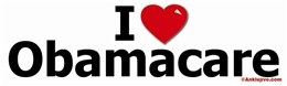 I [Heart] Obamacare Liberal Progressive Laptop/Window/Bumper Sticker